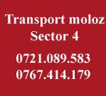 Transport moloz sector 4