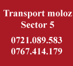 Transport moloz sector 5